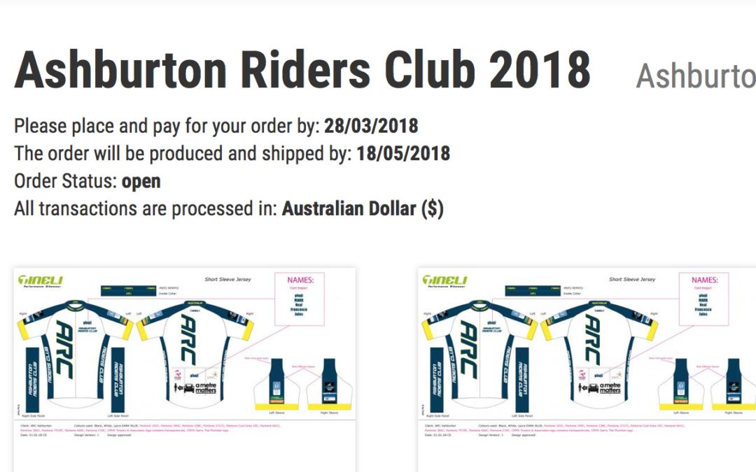 ARC Cycling Kit 2018