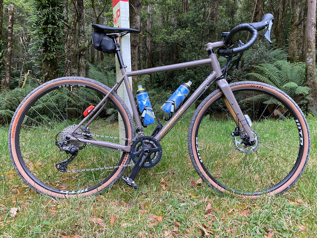 Rusty buys a gravel bike